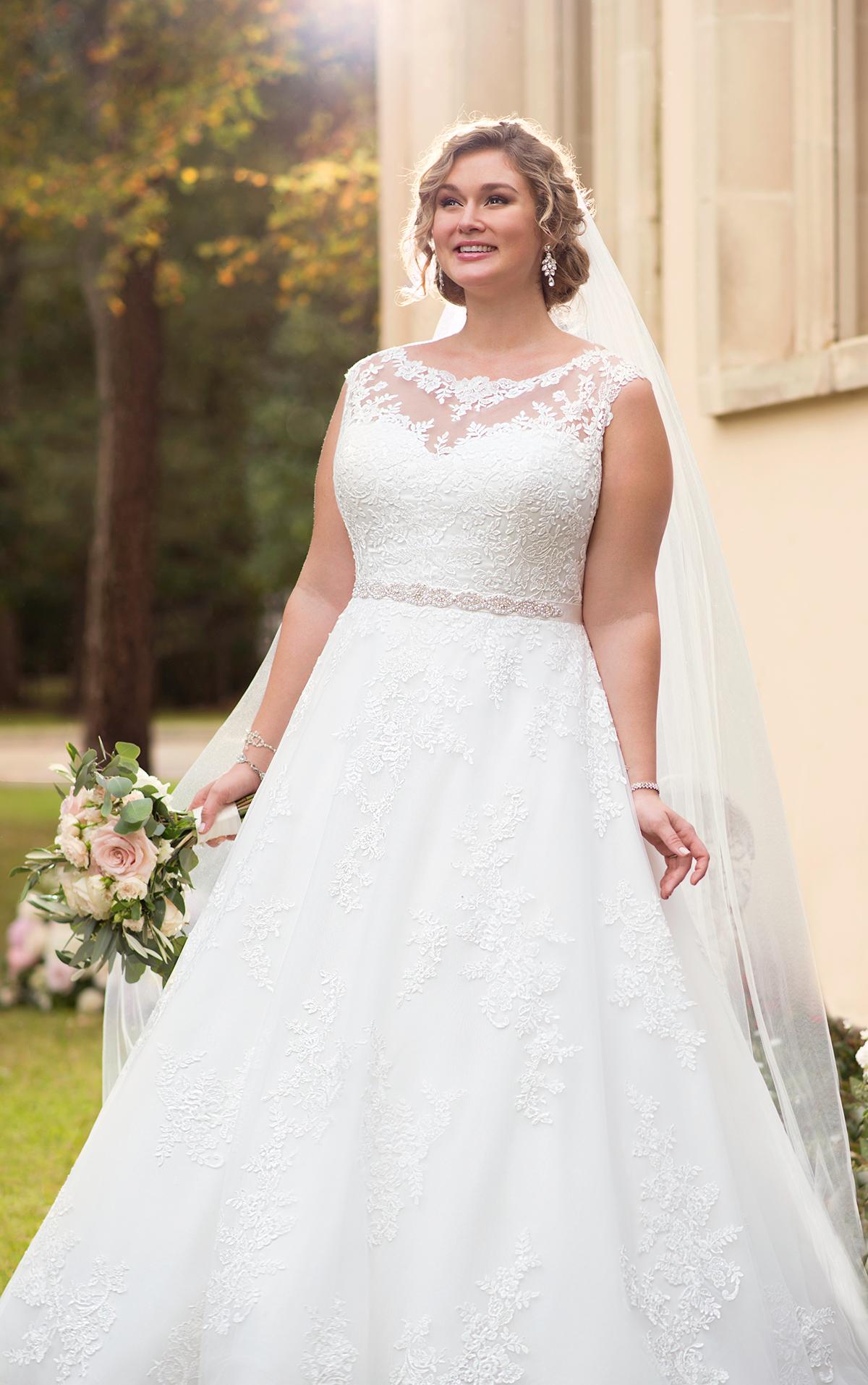 curvy bride brautkleider