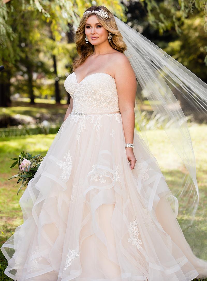 Brautkleid Prinzessin Große Größen